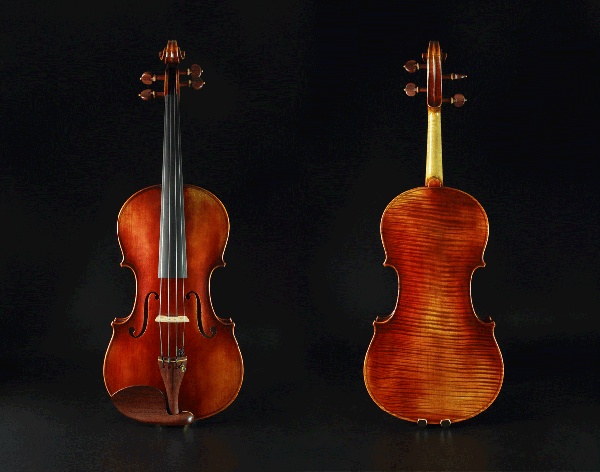 高级仿古风格中提琴