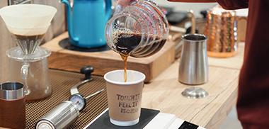 手冲咖啡 drip coffee