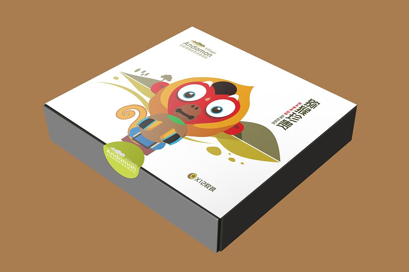 猕猴桃包装,农产品包装设计