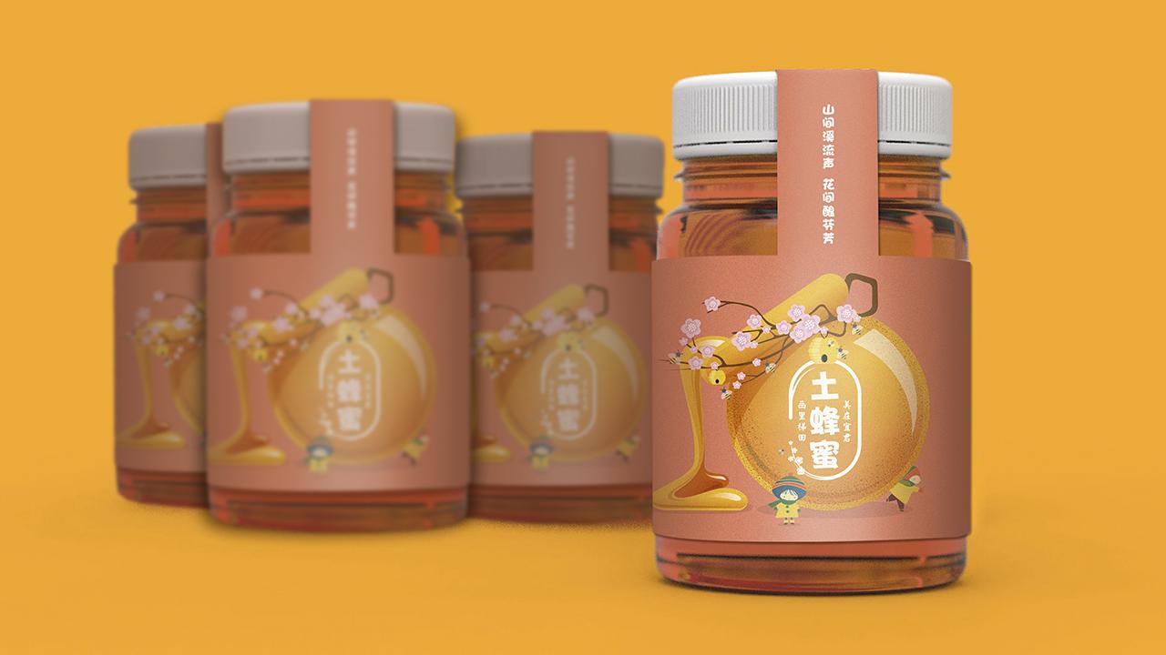 蜂蜜包装设计,农产品包装设计,食品包装设计