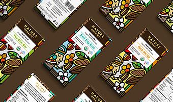 """Nature Organic ""巧克力包装设计欣赏"