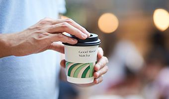 伦敦抹茶品牌形象设计,送给顾客一份健康