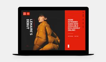 优衣库服装品牌网站设计,视觉之下的时尚简约风