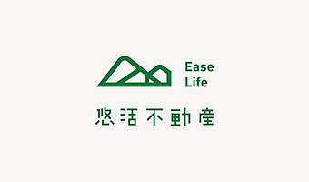 台湾企业logo品牌形象设计,几何图形也能玩出新花样