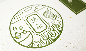 台湾抹茶包装设计,干净利落传达产品本质价值