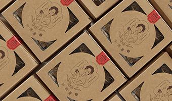 台湾食品包装设计,宛若置身民国初年思念外婆的味道