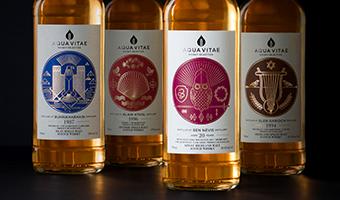 国外威士忌酒包装设计,一创意一故事一设计