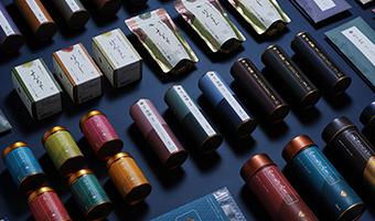 日本茶叶品牌包装设计,传统和现代结合散发独有的魅力