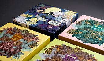 香港中秋月饼包装设计,极具中国风特色的食品包装