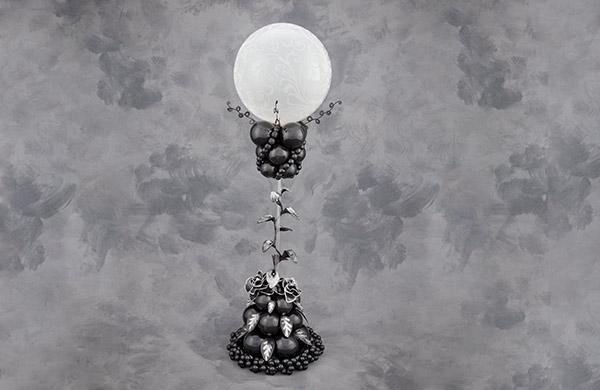精品气球立柱造型