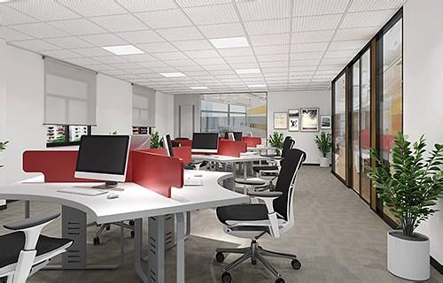 微康生物办公空间全案装修设计效果图片