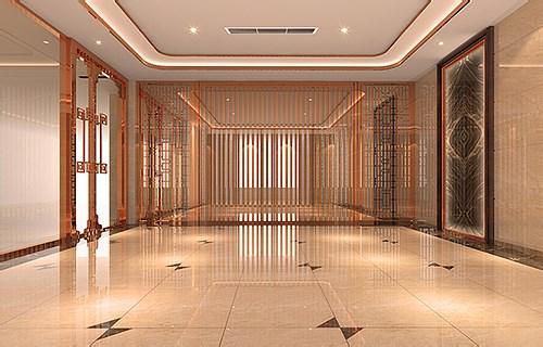 中式办公室装修设计效果图片