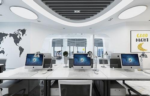 上海办公室装修设计效果图片