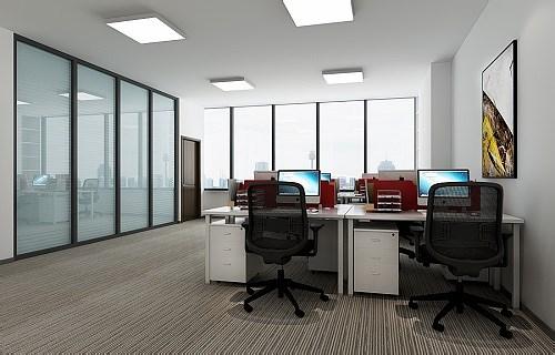 写字间孵化园创意办公装修设计效果图片