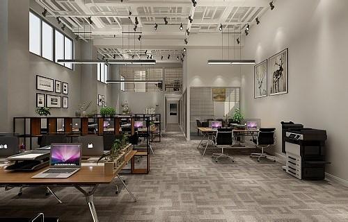 办公室装修设计套餐室内效果图片