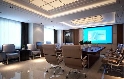 上海办公设计公司办公室装修效果图片