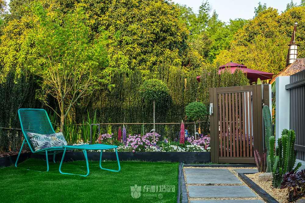 现代花园样板房