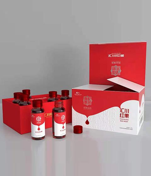 匯川紅果品牌包裝設計