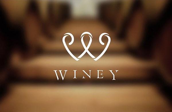 WINEY红酒服务品牌设计