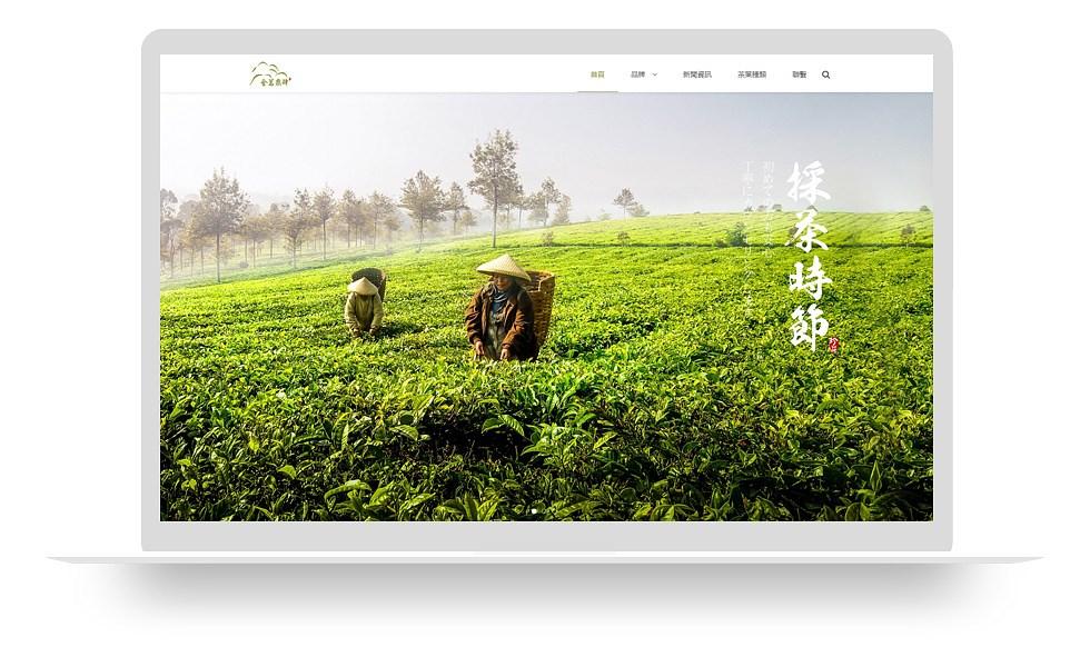 茶叶类网站 mo005_5124