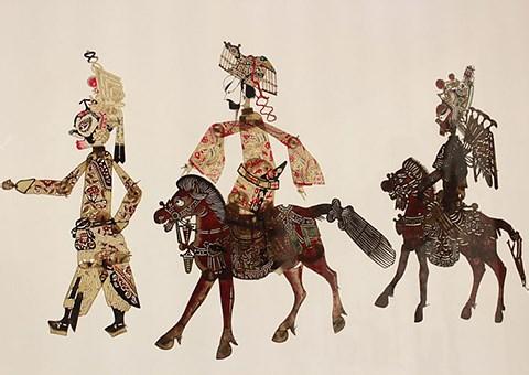 中华艺术宫馆藏皮影艺术展