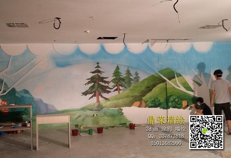 深圳墻體彩繪