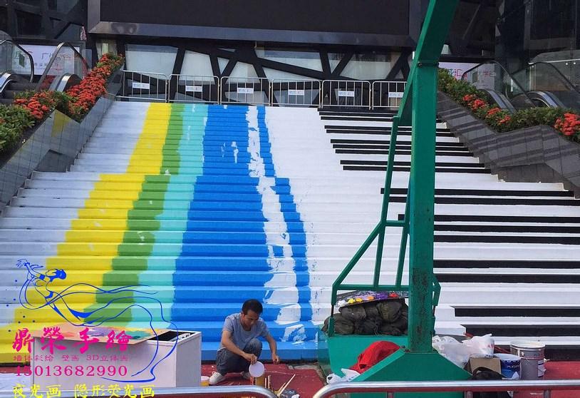 龙岗新城汇   深圳手绘墙公司
