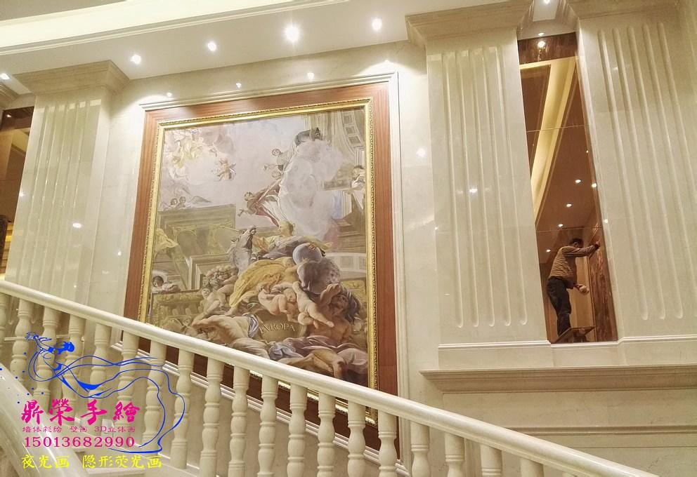 淡水红宴     深圳手绘墙公司