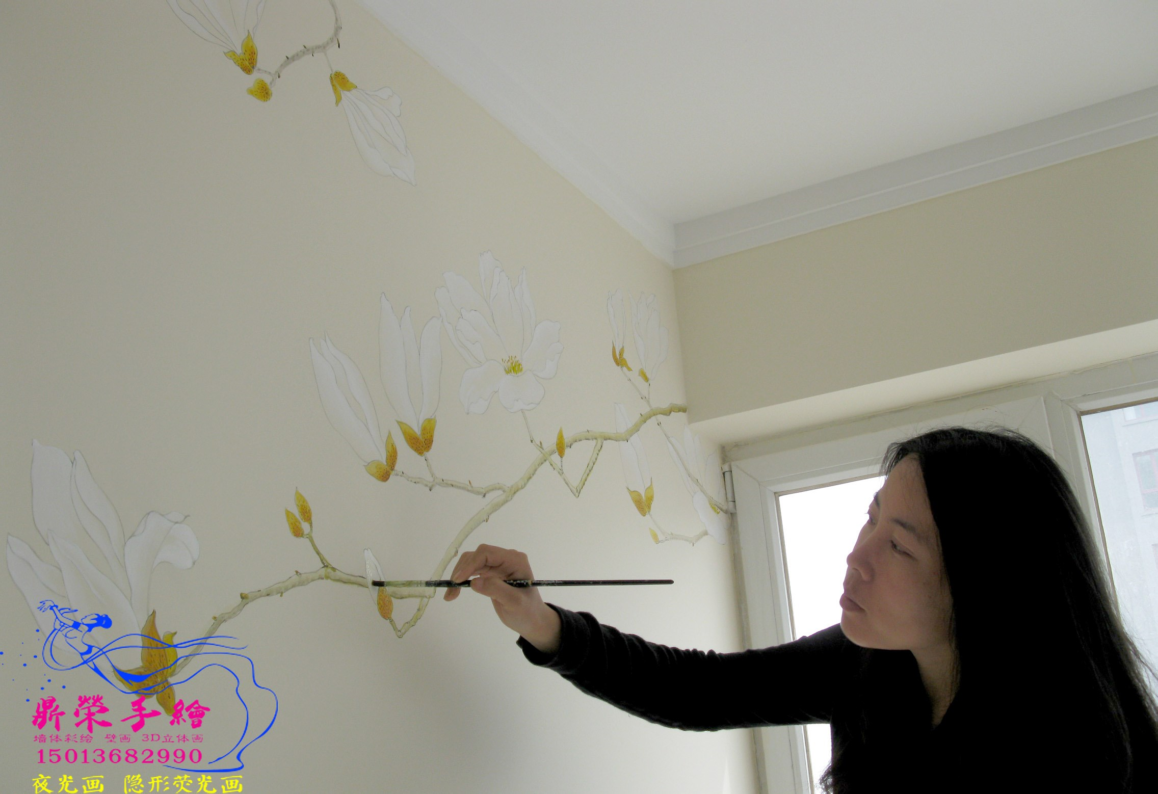 深圳壁畫     家居彩繪