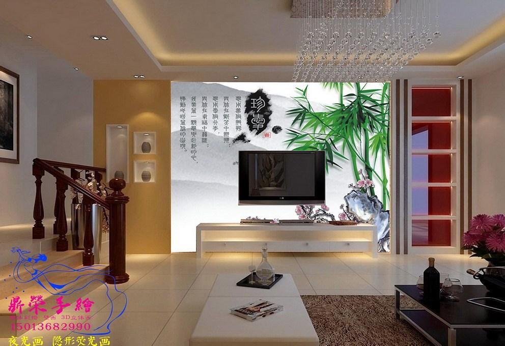 深圳手繪墻公司     家裝彩繪