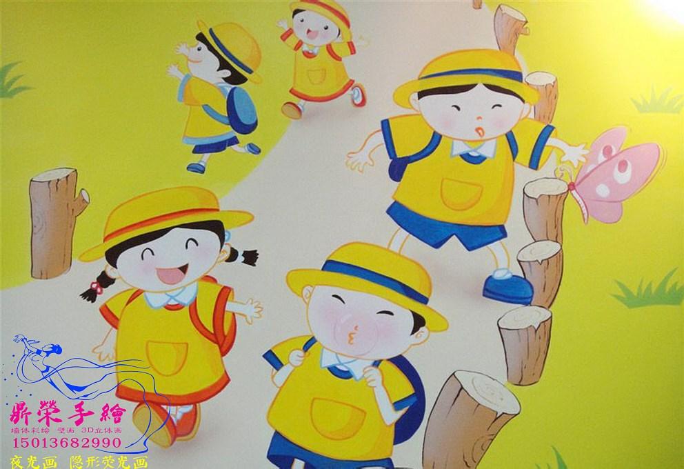 深圳壁畫   幼兒園墻壁彩繪