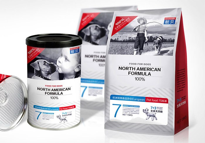 Packaging design of wolf grain products