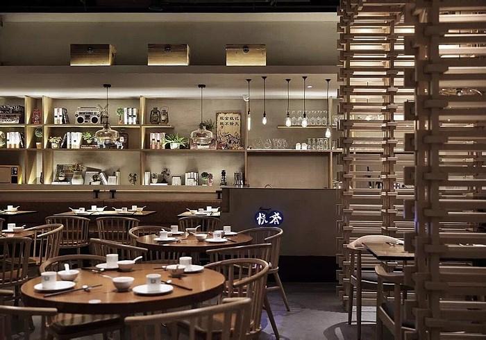Space decoration design of Cantonese cuisine restaurant