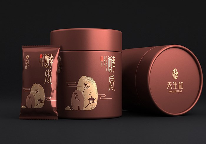Packaging design of fermented jujube
