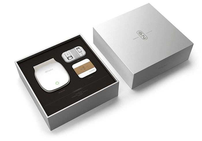 Packaging design of intelligent sleep monitor