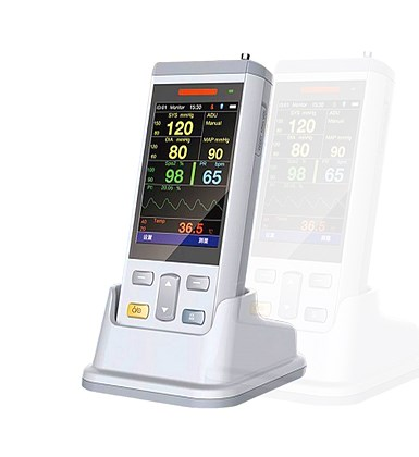 Emergency Veterinary Patient Monitor
