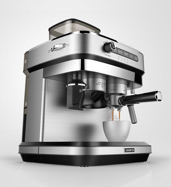 磨豆压力咖啡机