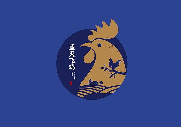 【品牌设计】蓝天飞鸡