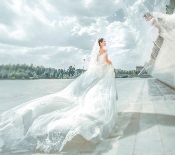 尺渡婚纱套系