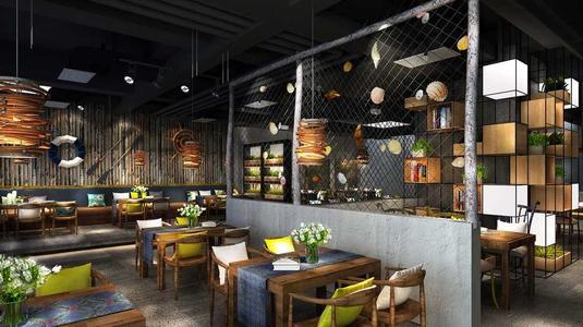 餐饮装修设计空间设计
