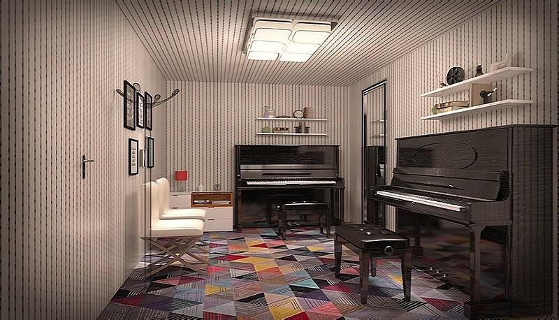 钢琴培训机构装修设计效果