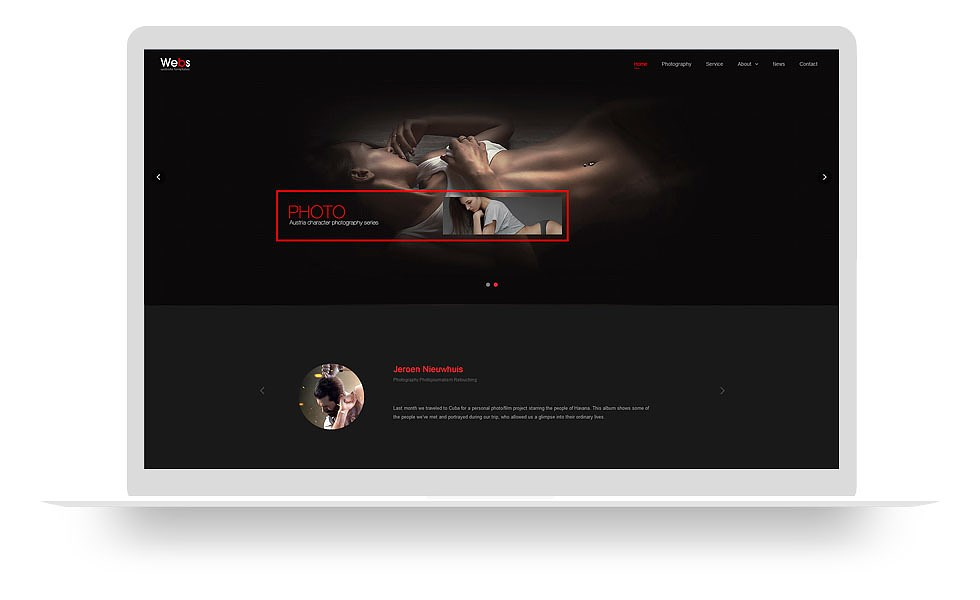 个性摄影网站