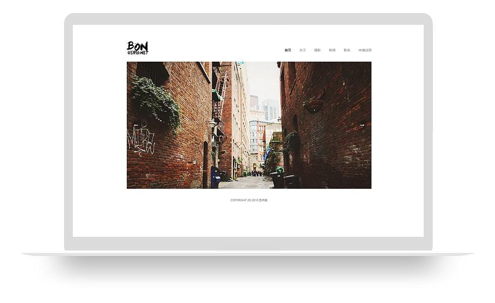 艺术展示型网站