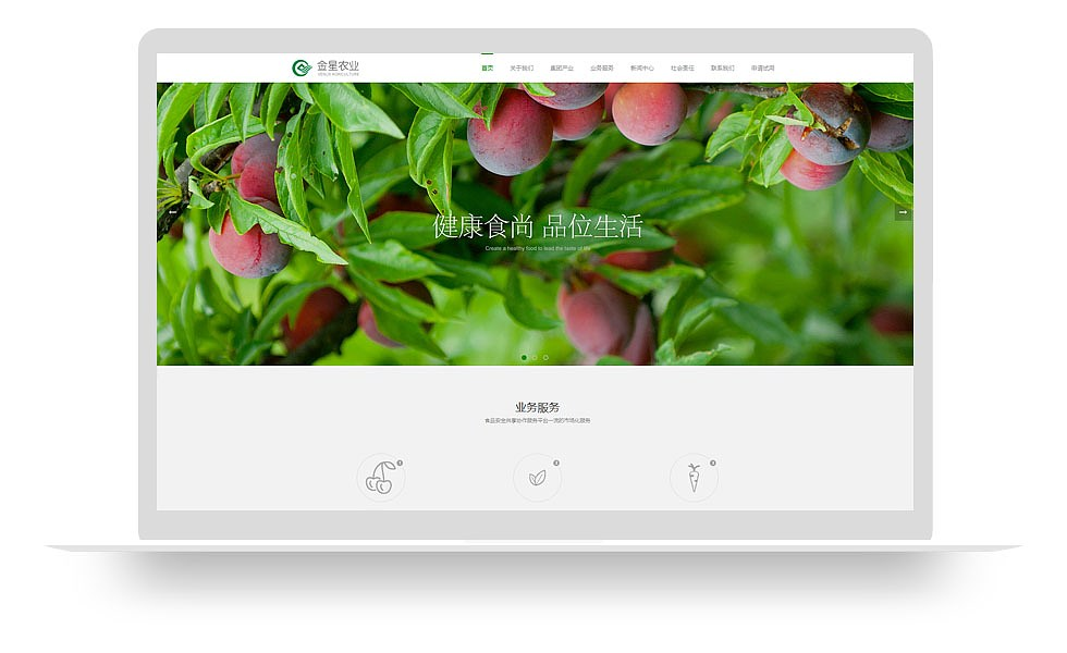 农业产品网站